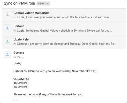 Cortana Calendar.help