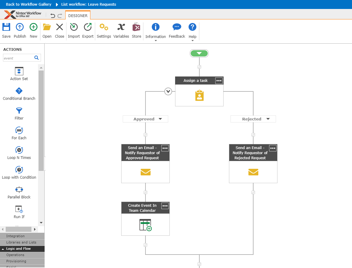 Nintex-Leave-Request-Workflow