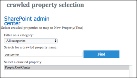 SharePoint crawled properties selection.png