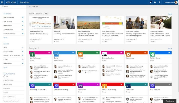 Sharepoint team news is much more than good news my sharepoint team news feed pronofoot35fo Choice Image