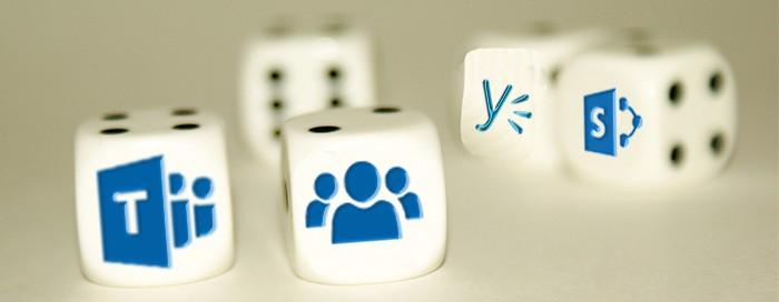 Groups in Outlook vs Microsoft Teams vs SharePoint Online vs Yammer